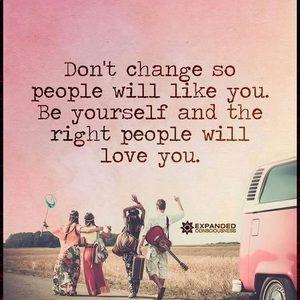 Don't change! Keep Poshing!!